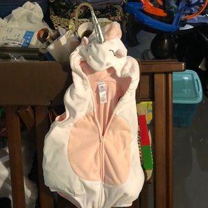 Carter's toddler girl unicorn costume